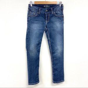 Silver | Suki Capri Jeans